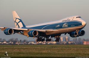 Boeing 747-83QF